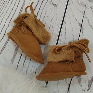 🏔️Faux Suede Booties
